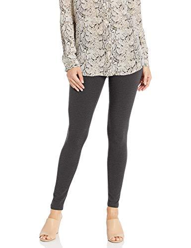 No Nonsense Women's Cotton Legging, Charcoal Grey, XL
