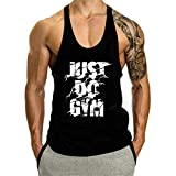 Cabeen Camiseta Deportiva Sin Mangas de Tirantes Hombre Bodybuilding Gimnasio Tank Top Culturismo