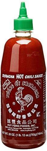 Huy Fong, Sriracha Hot Chili Sauce, 28-Ounce Bottles (Pack of 3)
