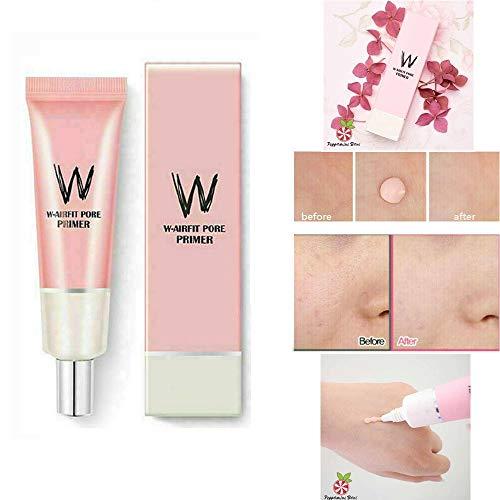 LZEN Moist Oil Control Concealer Foundation Facial Primer Base, Before Make up for face Brighten Smooth Skin Invisible pores