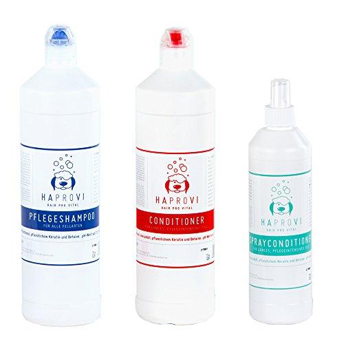 HAPROVI Fellpflege Sparset große Flaschen