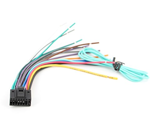 Xtenzi Car Radio Wire Harness Compatible with JVC CD DVD Navigation in-Dash - XT91022