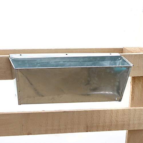 Blumenk/ästen Kunststoff Einsatz f/ür Europlatten Deko Garten Pflanzschale My-goodbuy24 Pflanzkasten f/ür Paletten anthrazit 6 St/ück