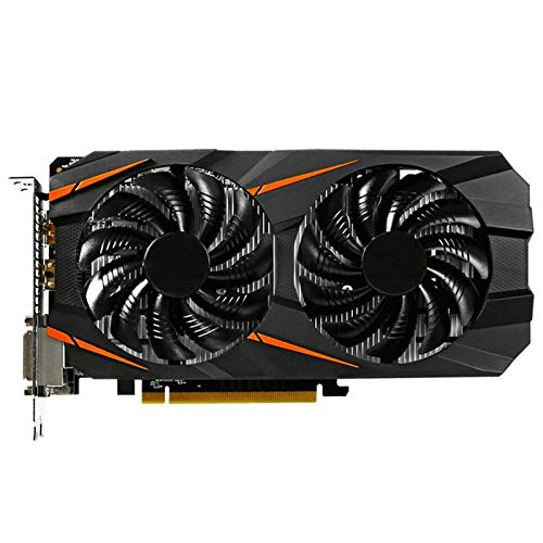 Fit For GIGABYTE NVIDIA GEFORCE Tarjeta Gráfica GTX 1060 Windforce OC 3GB Tarjetas De Video Integradas con 3GB GDDR5 Memoria De 192 bits Fit For PC