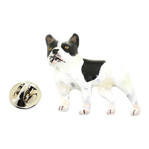 Sarah's Treats & Treasures French Bulldog Pin ~ Hand Painted ~ Lapel Pin