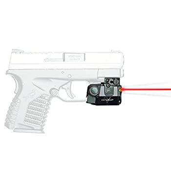 Viridian C5L-R Universal Red Laser Sight and Tac Light for Sub-Compact Handgun Pistols ECR Instant On Technology