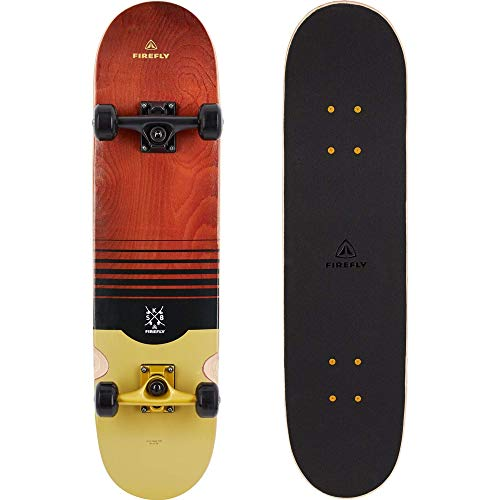 FIREFLY Unisex– Erwachsene SKB 700 Skateboard, Brown/Gold/Black, One Size