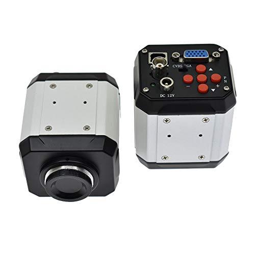 /G HD 2.0MP 1080P 30fps Cámara de microscopio electrónico Digital Industrial VGA USB AV Salidas Reparación de teléfonos móviles Detección de Placa Base