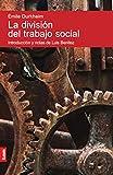 La división del trabajo social/ The division of social work (Spanish Edition)