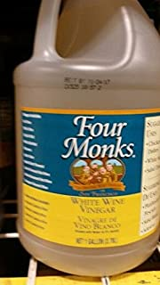 Four Monks White Wine Vinegar 1 Gal (2 Pack)