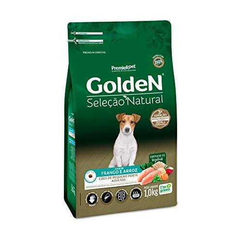Ração Golden Seleção Natural Para Cães Adultos De Raças Pequenas Mini Bits, 1Kg Premier Pet Para Todas Grande Adulto