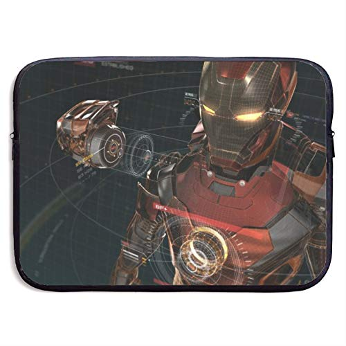 Iron Man Laptop Sleeve Bag 13 inch Computer Case Tablet Briefcase Ultra Portable Protective