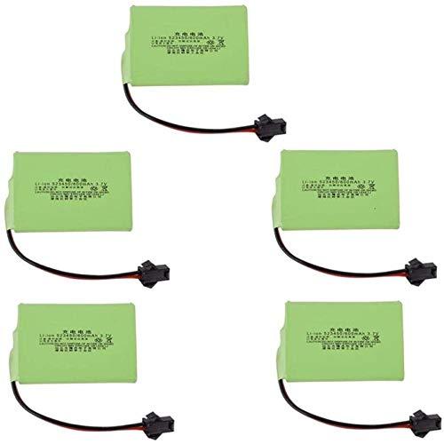 DWXW 3.7V 600mAh 523450 li-ion Battery for K9 Remote Control Electric Dinosaur Toys RC Leaning Machine Hand Drum battery-1PCS_A-5pcs