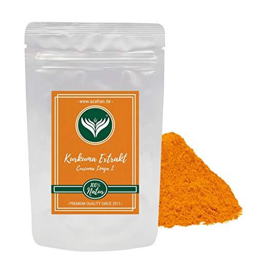 Azafran Kurkuma Extrakt hochdosiert Curcuma Longa L bzw 95% Curcumin Pulver 50g
