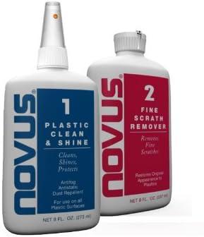 NOVUS 7056 Plastic Polish Kit - 8 oz.