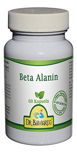 Beta Alanin 500mg je vegetarische Kapsel - Dr. Bawareg made in Germany (60 Kapseln)