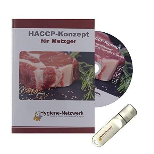 Hygiene Netzwerk HACCP-Konzept für Metzger   Checklisten & Arbeitsanweisungen   Metzgerei   Hygieneschulung   Infektionsschutzgesetz Schulung   Power-Point-Präsentation auf CD oder USB-Stick