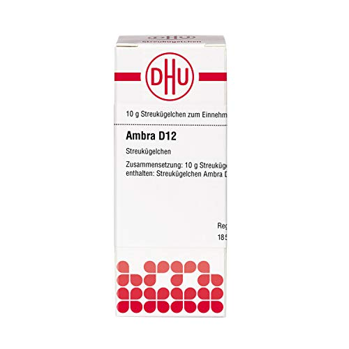 DHU Ambra D12 Streukügelchen, 10 g Globuli