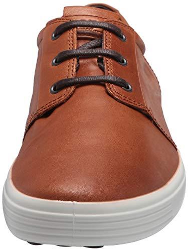 ECCO Soft 7 男款真皮系带休闲鞋