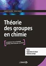 La théorie des groupes en chimie de François Volatron