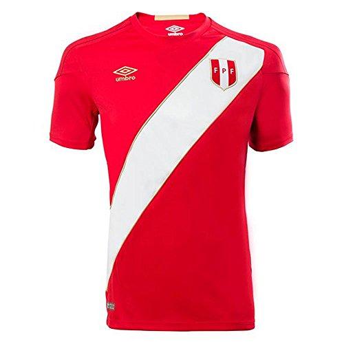 UMBRO 2018-2019 Peru Away Football Soccer T-Shirt Camiseta (