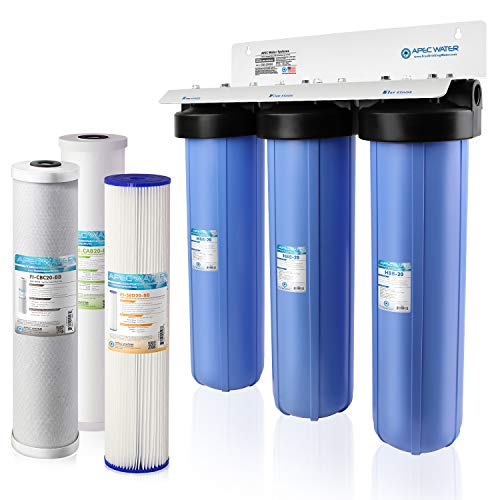 APEC Water Systems CB3-SED-CAB-CBC20-BB 3-Stage Whole House...