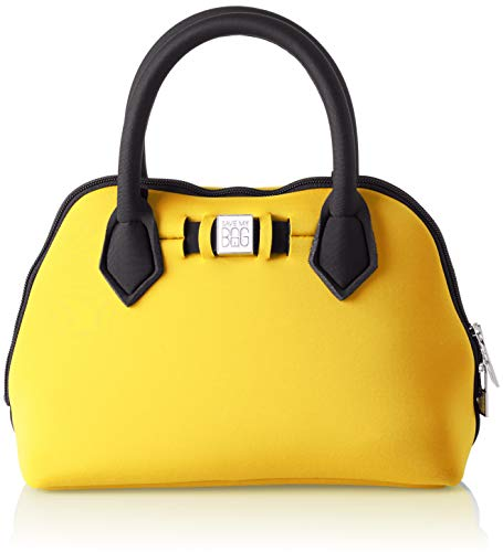 SAVE MY BAG - Princess Mini, Bolsos de mano Mujer, Amarillo (Rabat), 25x19x12 cm (W x H L)