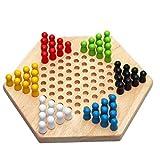 Juego de tablero de juego de ajedrez de viaje El ajedrez de madera Set de mesa damas chinas juegos de mesa más populares for los adultos de los niños del juego de la familia Conjunto Juego de ajedrez