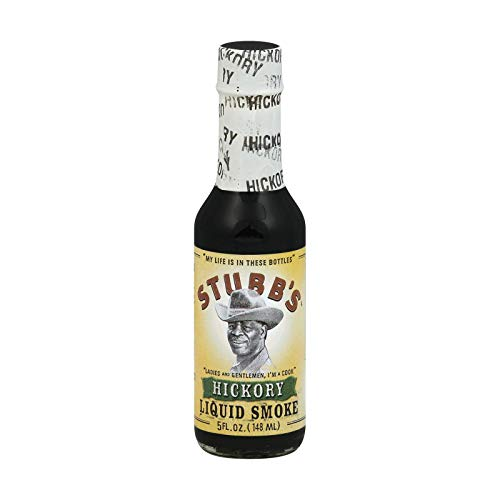Stubbs Liquid Smoke Hickory Sauce, 5 Ounce -- 12 per case. by Stubb's