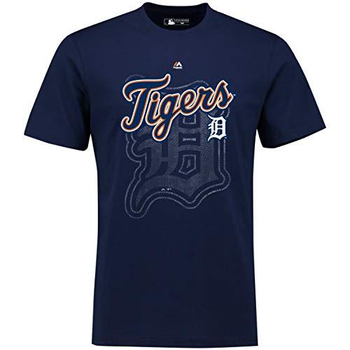 Fanatics Majestic MLB Phlyer Shirt - Detroit Tigers Navy - XL