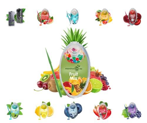 menthol24de Aroma Kapseln verschiedene Sorten (Fruit Mix, 100)