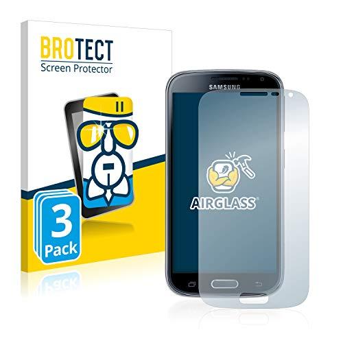 BROTECT Panzerglas Schutzfolie kompatibel mit Samsung Galaxy K Zoom SM-C115 (3 Stück) - AirGlass, extrem Kratzfest, Anti-Fingerprint