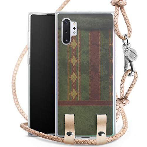 DeinDesign Carry Case kompatibel mit Samsung Galaxy Note 10 Plus 5G Hülle mit Kordel aus Leder...