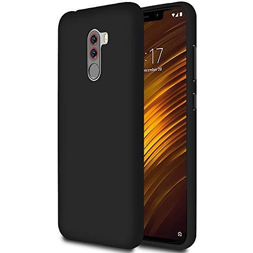 United Hülle Schutz Handy-Hülle für Xiaomi Pocophone F1 | Schwarz | Leicht & Dünn Cover