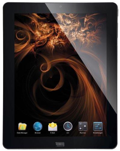 CMX Aquila MID 24,6 cm (9,7 Zoll) Tablet-PC (AMD, 1,5GHz, 1GB RAM, 16GB HDD, Android 4.0) schwarz