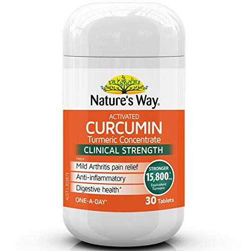 Nature's Way Activated Curcumin Turmeric Concentrate, 0.06 Kilograms