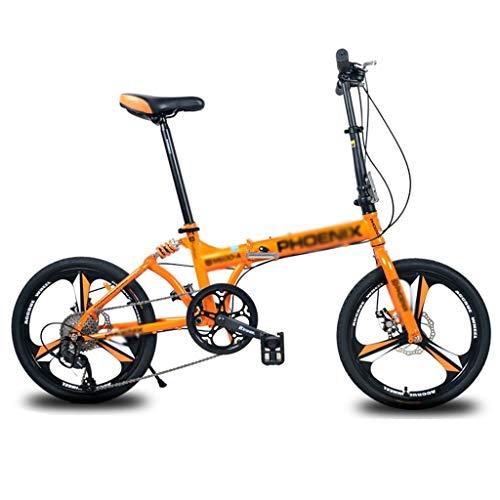 Bicicletas Plegable Single Speed  Ultra Ligero Portá