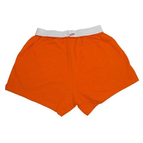 Soffe Juniors' Authentic Cheer Short, Orange, Small (1-Pack)