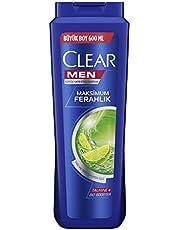 Clear Men Yağlı Saçlar İçin Şampuan, 600 Ml