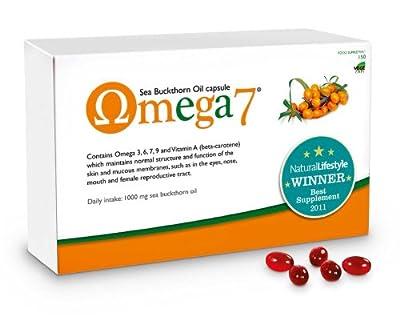 Omega 7 Sea Buckthorn Oil - 2 Pack (300 Capsules)
