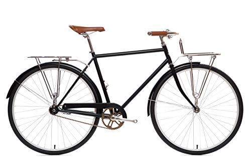 Great Features Of State Bicycle Co. City Bike Deluxe | The Elliston Lightweight Single Speed Dutch S...