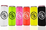 White claw can cooler Sleeves | 6 pack personalized | Coolers Sleeves to keep Whiteclaw Cold | Slim Aluminum Can | 12 ounce Drinks | Skinny Insulated for Beer Can Beer Bottle