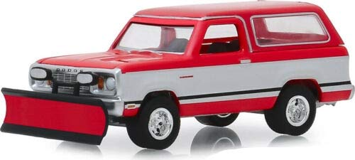 Greenlight 35140-C Blue Collar Collection Series 6-1977 Dodge Ramcharger with Snow Plow 1:64 Scale
