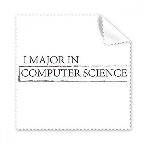 Citação I Major em Ciência da Computação, pano de limpeza de tela de telefone, 5 peças