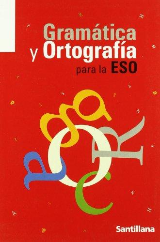 Gramática y ortografía para Secundaria - 9788429470833