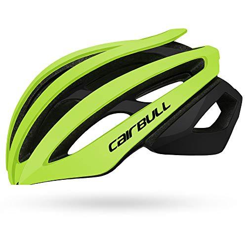 Cairbull Fahrradhelm Erwachsene Männer/Frauen Rennrad Mountainbike Racing Leichte Doppelschicht Reithelm M (54-58 cm) für Kinder L (58-61 cm)