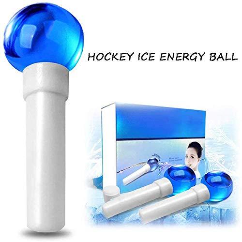 QIYE 2pcs Gesichtskühlung Ice Globe Ball, Gesichtsmassage Zur Faltenreduzierung, zum Schrumpfen der Poren, zur Gesichtsstraffung, Massagestäbchen Beauty Werkzeug