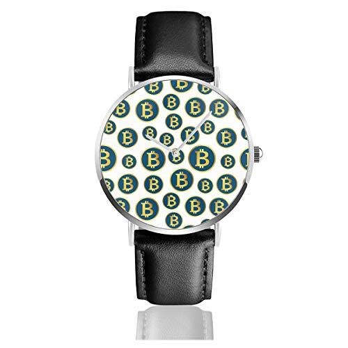 Men Fashion Simple Quartz Watches Comfortable PU Strap Wrist Watches...