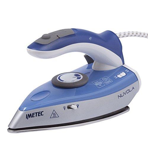 Imetec 9559 Plancha, 1000 W, Acero inoxidable, Azul
