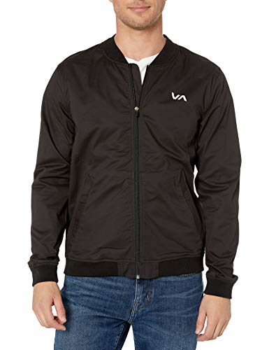 RVCA Sport Spectrum Bomber Jacket Black Medium